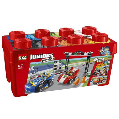 LEGO Juniors 10673 –  Große Steinebox Ralley