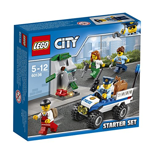 LEGO City 60136 – Polizei-Starter-Set