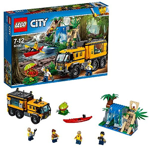 LEGO City 60160 – Mobiles Dschungel-Labor
