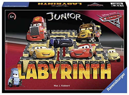 Ravensburger 21273 – Disney/Pixar Cars 3 Junior Labyrinth Kinderspiel